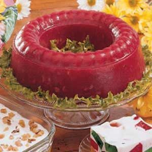 Molded Rhubarb Salad