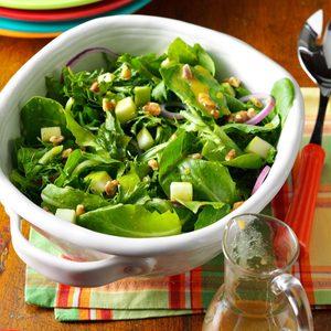 Apple Salad with Maple-Mustard Vinaigrette