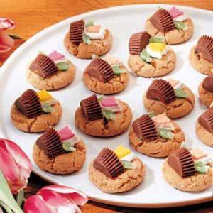 Peanut Butter Baskets