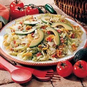 Southwestern Corn Chip Salad