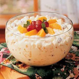 Creamy Fruit Bowl