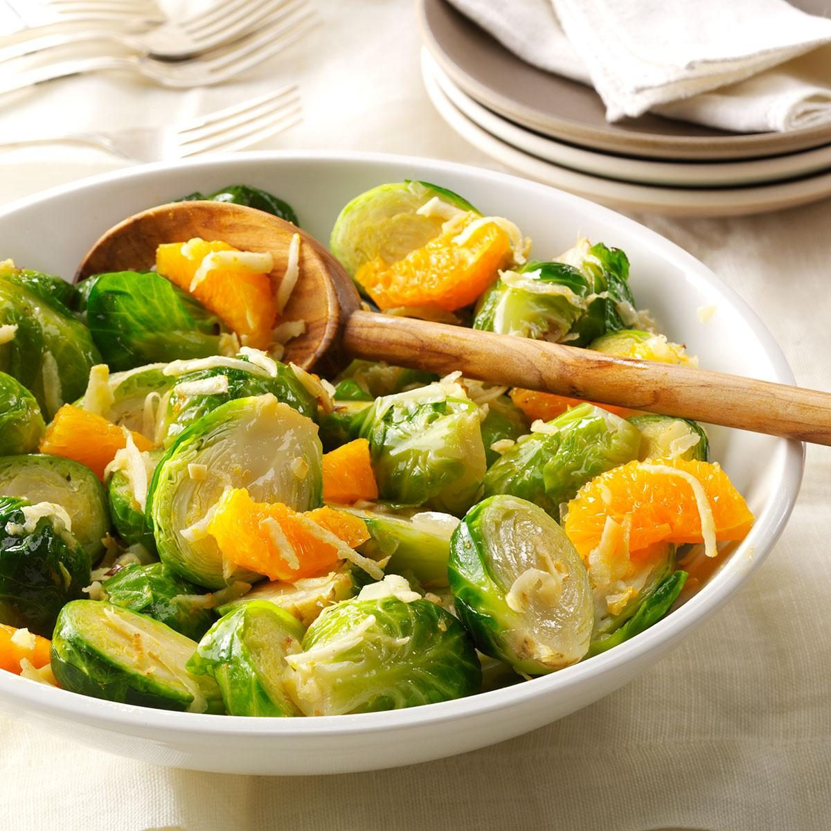 Brussels Sprouts and Tangerines