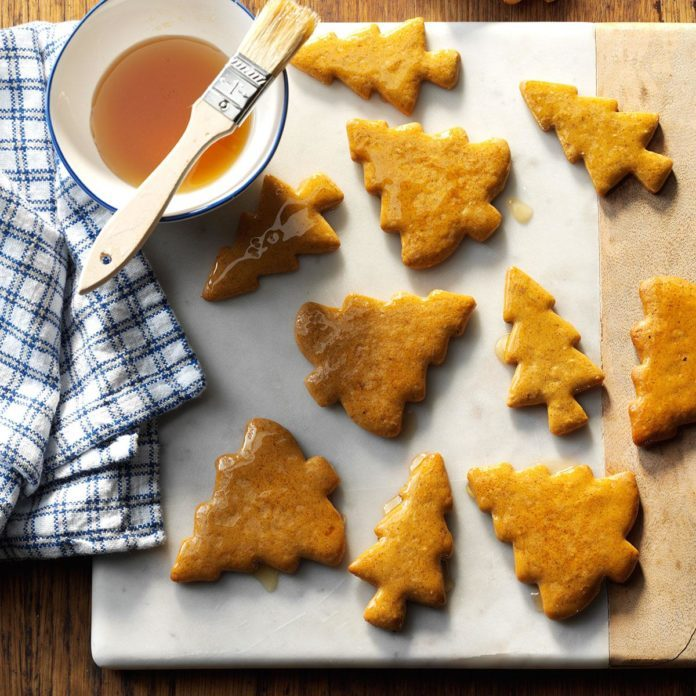 Day 20: Citrus Gingerbread Cookies