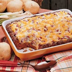 Potato-Topped Chili Loaf