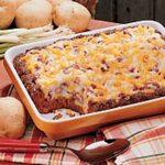 Potato-Topped Chili Loaf