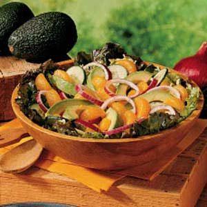 Orange Avocado Salad