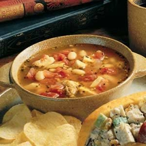 Bean, Chicken and Sausage Soup