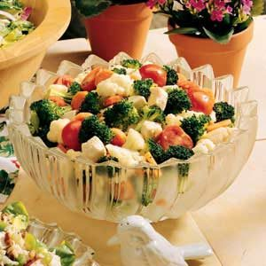 Broccoli-Cauliflower Toss