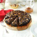 Fudgy Turtle Pie