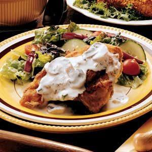 Creamy Pan-Fried Chicken