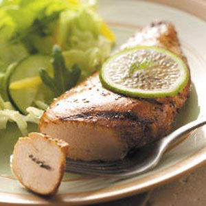 Quick Garlic-Lime Chicken