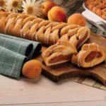 Glazed Apricot Coffee Cake