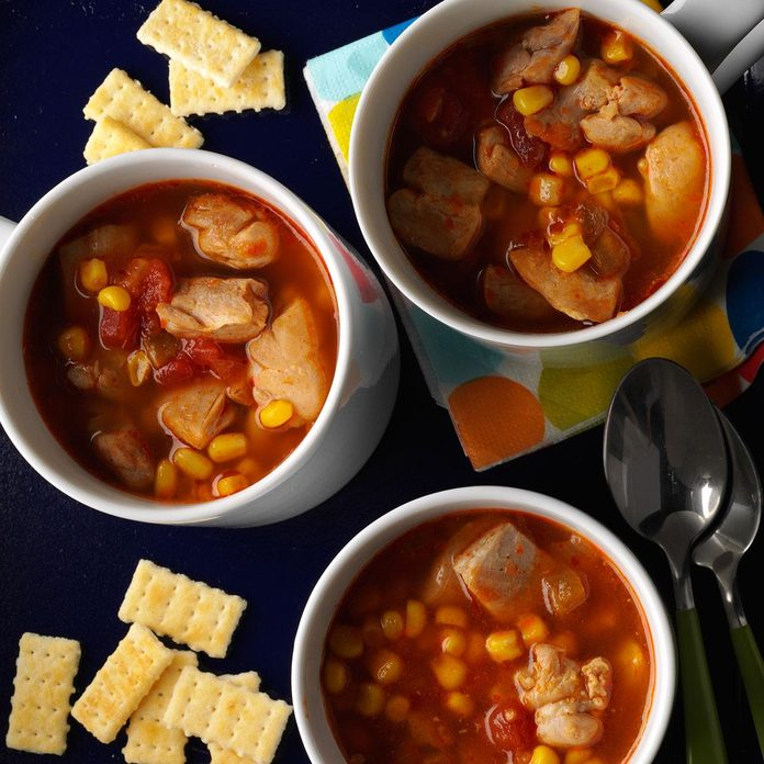 Super Fast Mexican Soup