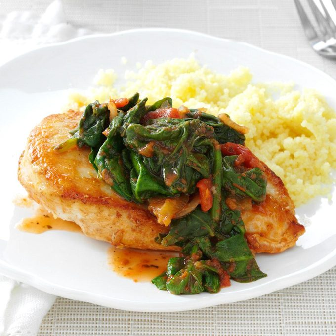 In-a-Pinch Chicken & Spinach