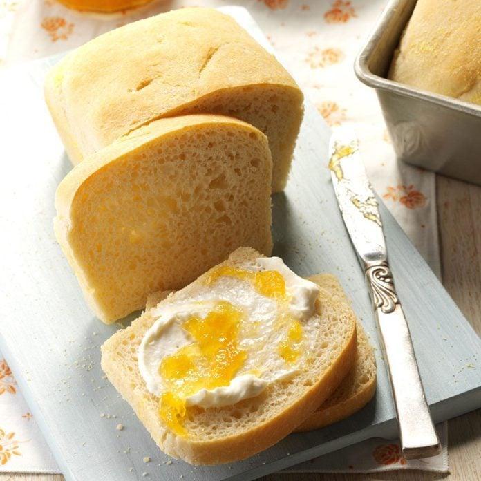 Homemade English Muffin Bread