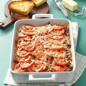 Italian Sausage Casserole