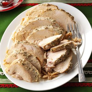 Herbed Slow Cooker Turkey Breast