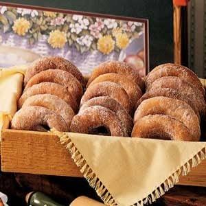 Snowflake Doughnuts