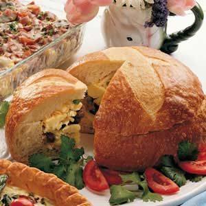 Stuffed Breakfast Loaf