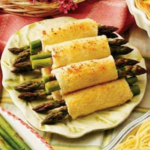 Asparagus Appetizer Roll-ups