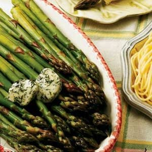 Asparagus with Dill Butter
