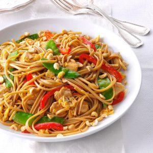 Thai Chicken Linguine