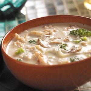 Broccoli and Crab Bisque