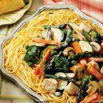 Chicken/Asparagus Pasta Supper