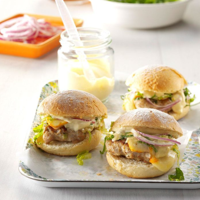 Loaded Turkey Sliders