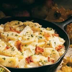 German Potato Salad with Eggs