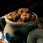 Rhubarb Coconut Cookies