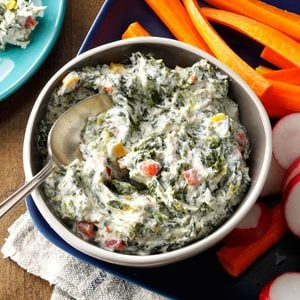 Healthy Spinach Dip