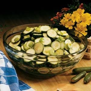 Sweet and Sour Zucchini