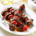Balsamic-Glazed Beef Skewers