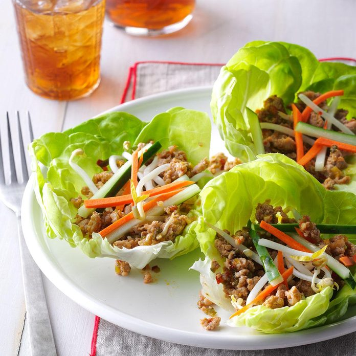 Day 2 Lunch: Asian Lettuce Wraps