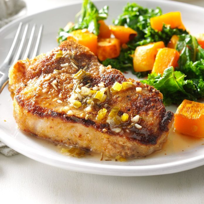 Chardonnay Pork Chops