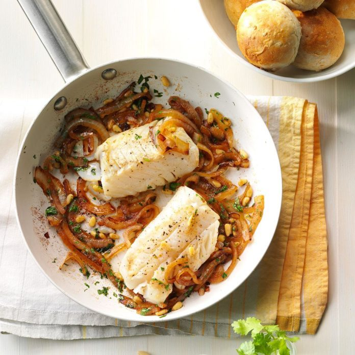 Pan-Seared Cod