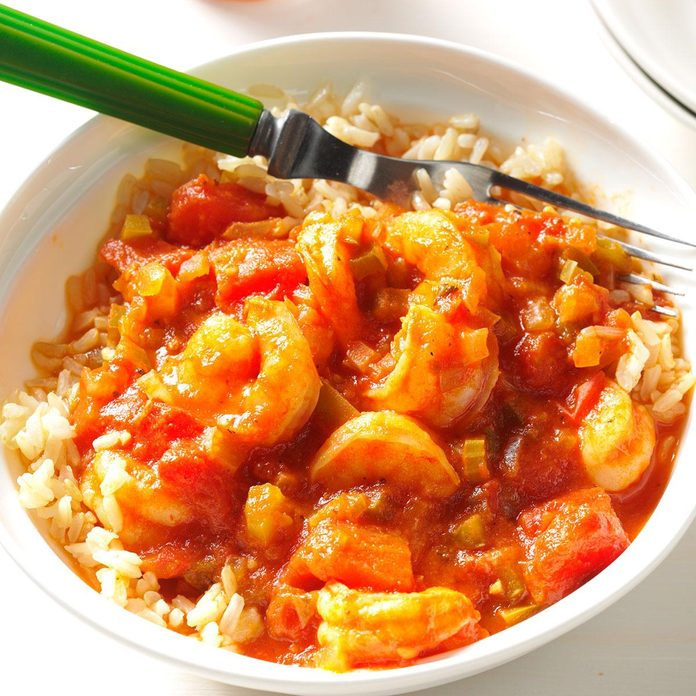 Day 28: Quick & Easy New Orleans Shrimp