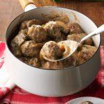 Cocktail Mushroom Meatballs