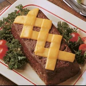 Crisscross Meat Loaf