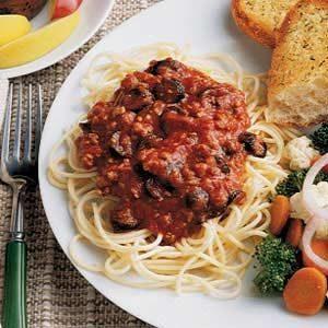 Quick Italian Spaghetti