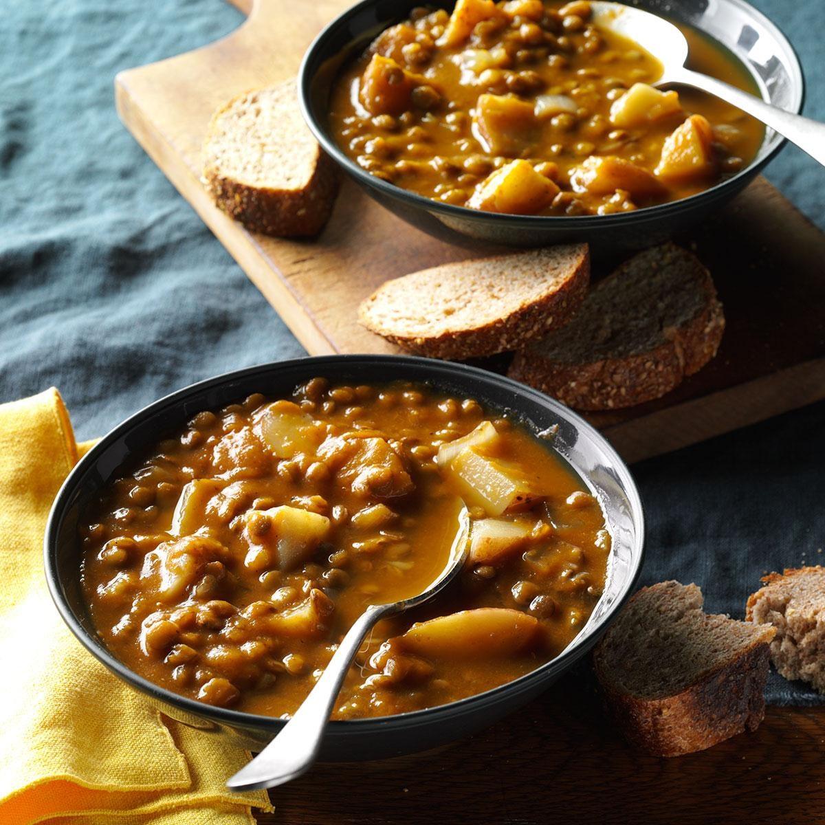 Lentil Pumpkin Soup