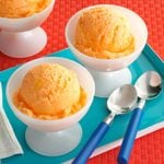 Orange Soda Sherbet