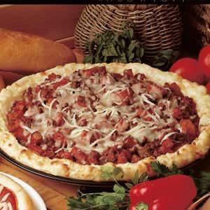 Zesty Potato Pizza