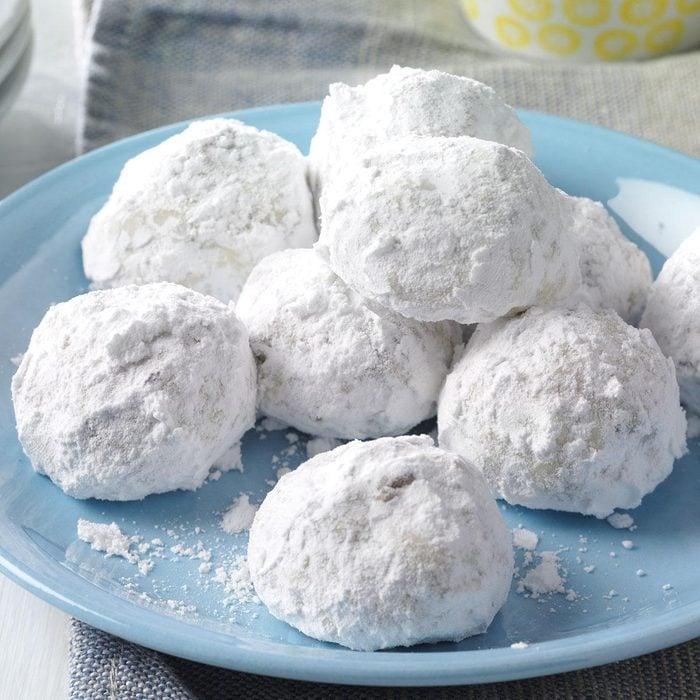 Chocolate Snowballs