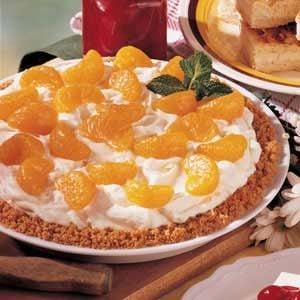 Easy Mandarin Orange Cheesecake