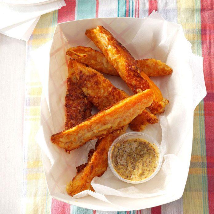 Parmesan Sweet Potato Wedges