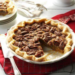 Southern Bourbon Pecan Pie