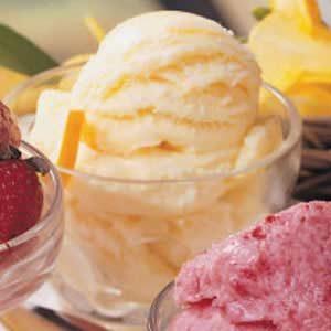 Lemon Orange Ice Cream