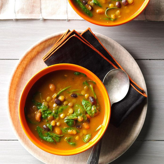 Pumpkin-Lentil Soup